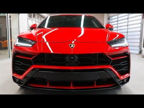 Delivery of a 2019 Lamborghini URUS in Rosso Anteros!!!