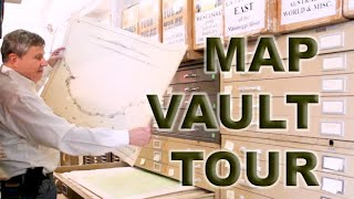 Map Vault Tour | Behind The Scenes Of Antique Maps At New World Maps