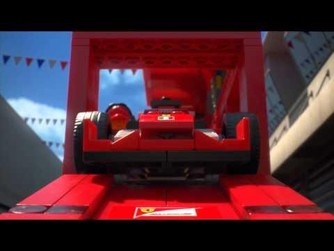 Vidéo LEGO Speed Champions 75913 : F14 T et son camion scuderia Ferrari