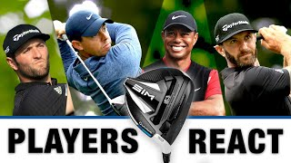 TIGER, RORY, DJ And more react to the NEW TaylorMade Driver! PLUS Our Own Personal reveal!