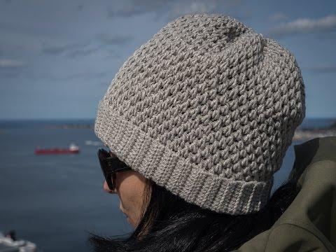 0a5bdec529 Πλεκτό ζεστό σκουφάκι · How to make crochet hat   beanie