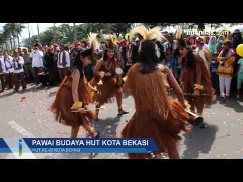 Pawai Budaya Hut Kota Bekasi