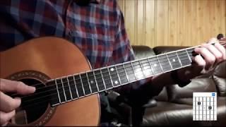 Longer (standard tuning) Dan Fogelberg - guitar lesson