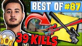 GOTAGA 39 KILLS EN SQUAD 😱 LEBOUSEUH DEVIENT FOU 🤣 ► BEST OF FORTNITE FRANCE #87