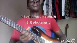 Demo   Dj_neptune Ft Davido (guitar Cover)