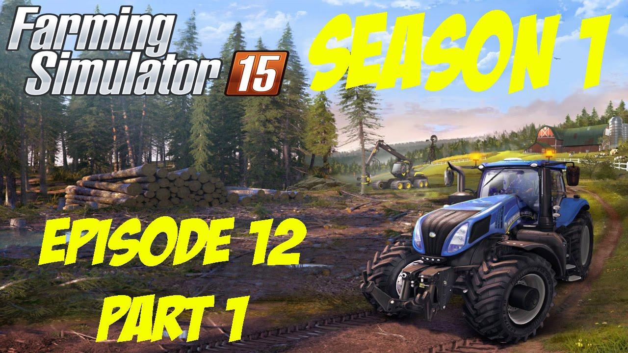Let's Play Farming Simulator 15 Season 1 - Episode 12 Part 1 - Cheap Wool