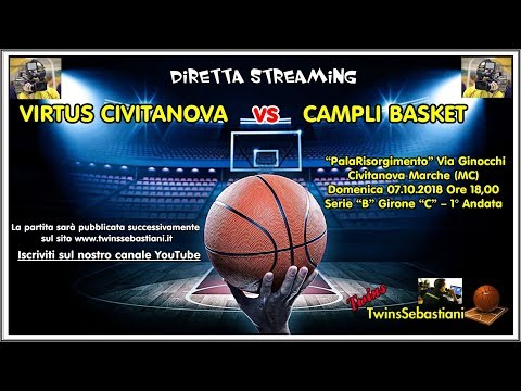 Preview video DIRETTA Rossella Virtus Civitanova - Basket Campli 1957