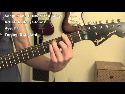 The Stones - Mona (I Need You Baby) - Guitar Lesson