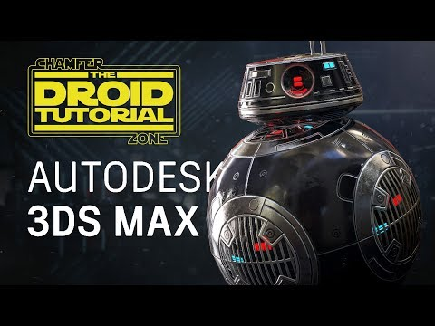 Star Wars: Droid Tutorial – Part 1 – Modeling & UV Unwrapping – 3Ds Max