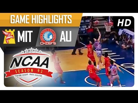 AU vs MIT | Game Highlights | NCAA 92 | September 30, 2016