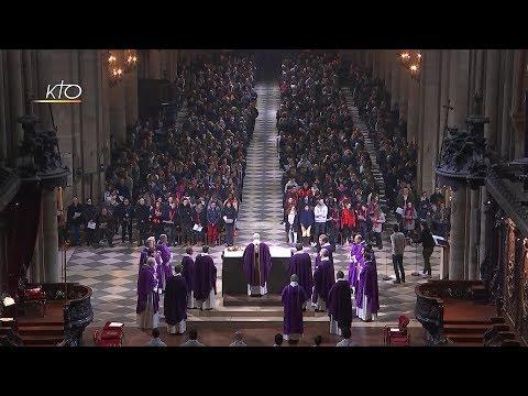 Messe des jeunes confirmés du 3 décembre 2017