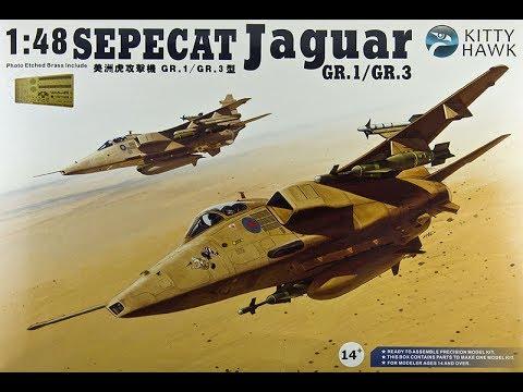 Kitty Hawk 1//48 Sepecat Jaguar T.2//T.4 #80105