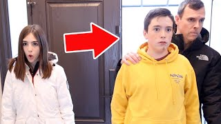 WE WALKED IN ON HER!!