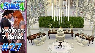 O LOCAL DO CASAMENTO - Desafio dos 7 Bebês #27 - The Sims 4