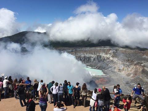 Poas Volcano, Costa Rica – Timelapse
