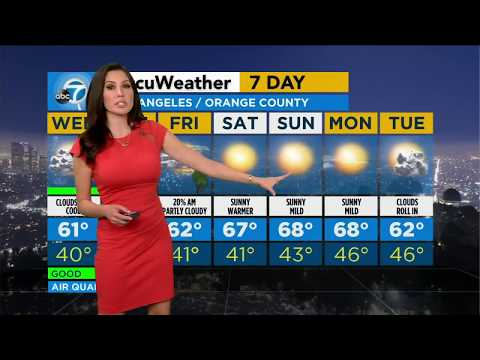 Cool temps, cloudy skies on tap for SoCal Wednesday | ABC7