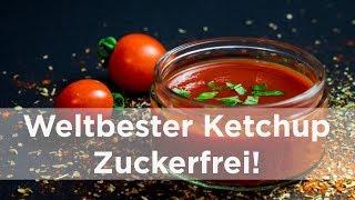 Weltbester Ketchup. Zuckerfrei!