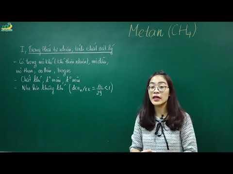 Hóa 9, Bài 36: Metan