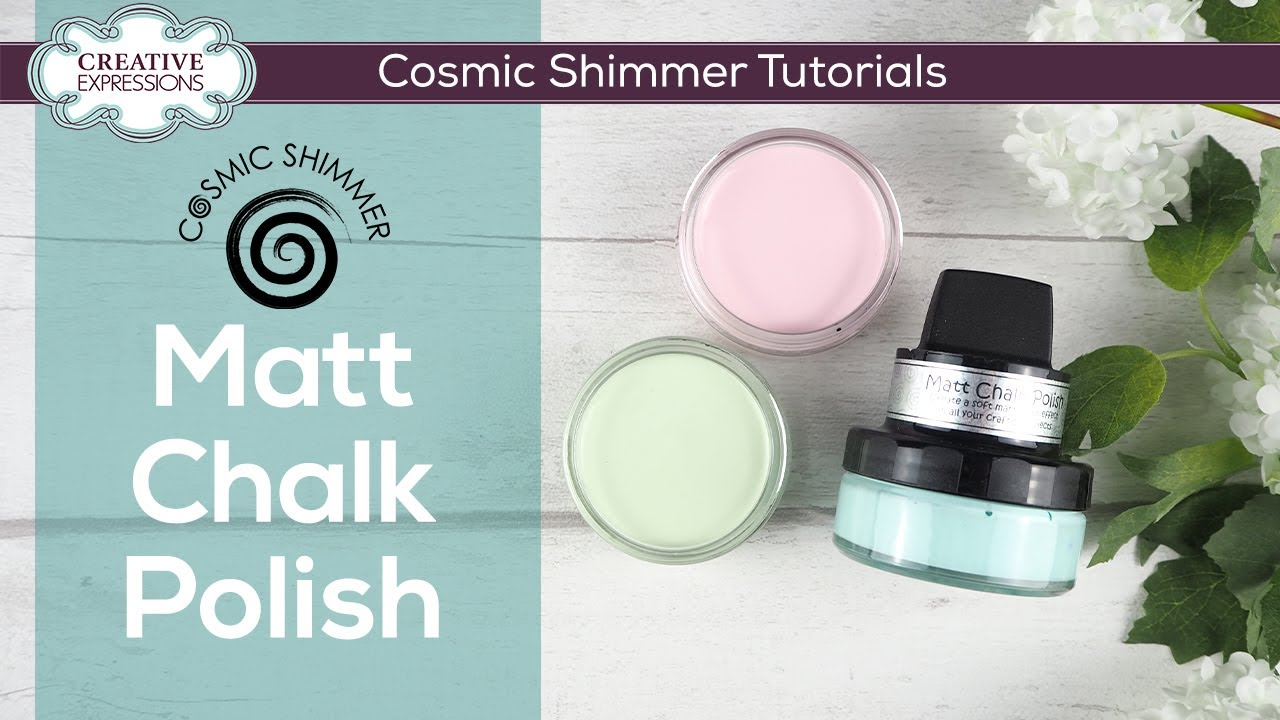 Cosmic Shimmer Matt Chalk Polish, sävy Custard