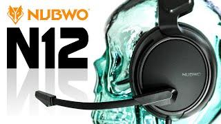 Gaming HEADSET Nubwo N12 | 26 €€ Teil mit tollem MIKROFON u. ohne GEBLiNKE - TEST | UNBOXiNG