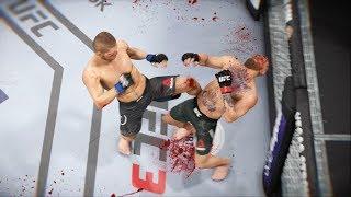 УБИТЬ или УМЕРЕТЬ в UFC 3 МИРОВОЙ TOP 10 RANKED