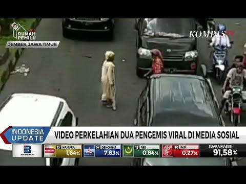 Video Perkelahian 2 Pengemis Viral di Medsos