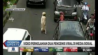 Video Perkelahian 2 Pengemis karena Berebut Lahan Viral di Medsos, Ketahuan Pura-pura Pincang
