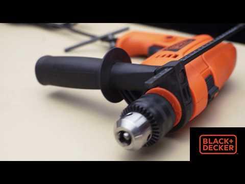 Black & Decker HD555 Varibale Speed Hammer Drill