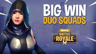 Big Win!! Duo Squads   Fortnite Battle Royale Gameplay   Ninja & Symfuhny