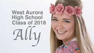 Photography by Feltes - Ally West Aurora class of 2018