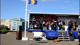 preview picture of video 'Actuação da Tuna Académica da Madeira Festa gastronómica Portuguesa St. Helier Jersey 24-08-2013'