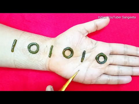 Download Simple Easy Latest Mehndi Designs For Hands Mehndi