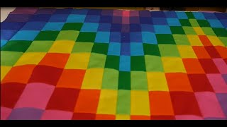 Bargello Patchwork - From Start To Finish