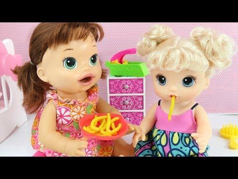 b005bba7de Boneca Baby Alive Macarrao - Espaguete - Loira - R  205