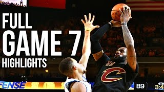 Warriors vs Cavaliers: Game 7 NBA Finals - 06.19.16 Full Highlights