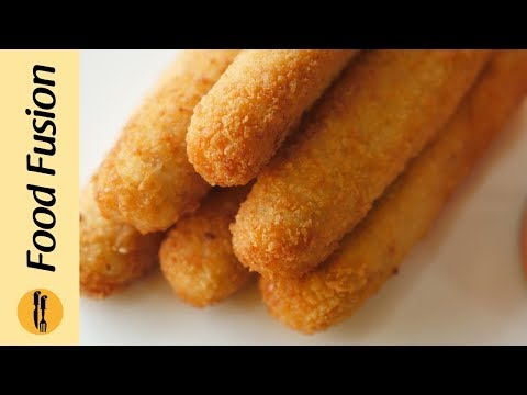 Chicken Cheese Fingers Recipe By Food Fusion