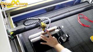 How to Use the ChinaCNCzone SL-4060 CO2 Laser Cutting Engraving Machine?