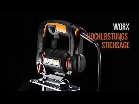 WORX WX477  Stichsäge - Deutsch  - www.worx.com