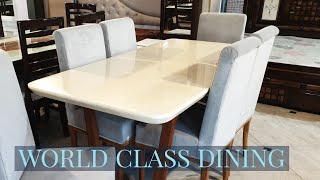 DESIGNER DINING TABLES | FACTORY PRICE | ALL INDIA DELIVERY