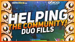 TSM Hamlinz - HELPING A KID GET THOUSANDS OF VIEWERS! (Fortnite BR Full Game)