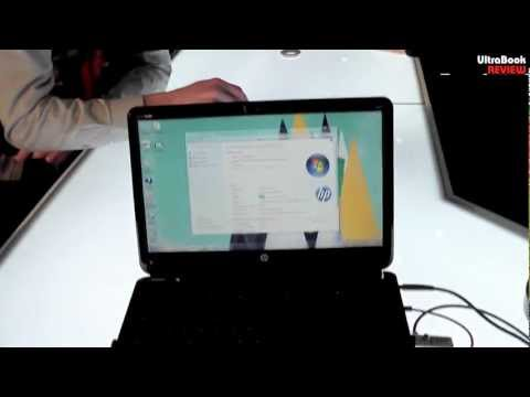HP Envy 4 Sleekbook ultrabook hands on preview