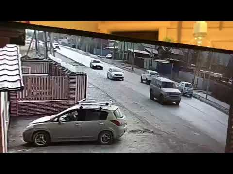Видео ДТП, из-за которого избит известный артист