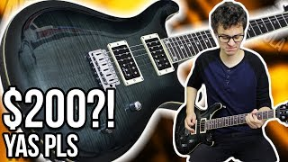 $200 Guitar... and it's Not Total 💩|| Harley Benton CST-24T Demo/Review