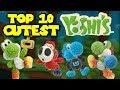 Top 10 Cutest Yarn Yoshis
