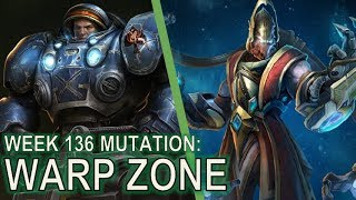 Starcraft II: Co-Op Mutation #136: Warp Zone