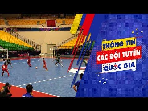 ĐT Futsal nữ Việt Nam giao hữu với ĐT Futsal nữ Thái Lan trước thềm VCK châu Á 2018 | VFF Channel