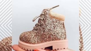 اجمل احذية اطفال بنات للشتاء 2019 احذية انيقة اخر موضة