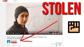 Stolen YOUTUBE Videos - Creators Beware!