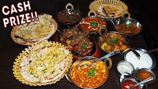 Undefeated Indian Food Challenge w/ 5 Curries & 1kg Mixed Grill!!