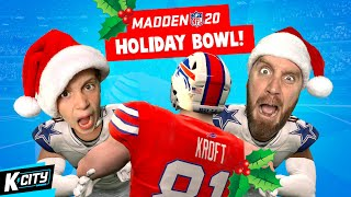 INSANE HITS in Madden NFL 20 HOLIDAY Bowl!! K-CITY GAMING